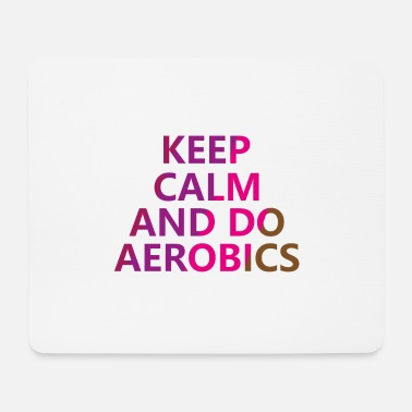 Aerobic cardio exercise gift - Mouse Pad