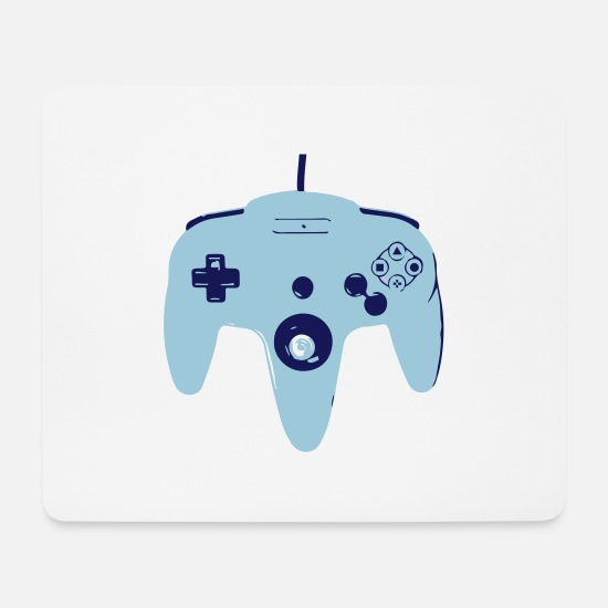 Yolo Mousepads  - Controller - Mousepad Weiß
