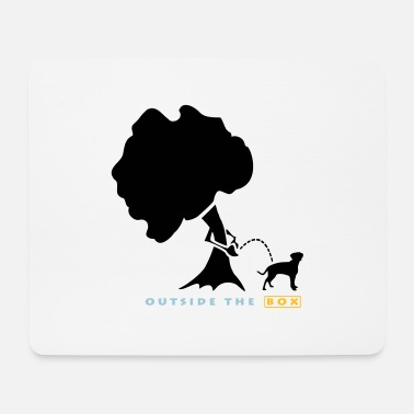 Dogwalking Outside The Box - Dogwalk - Mouse Pad