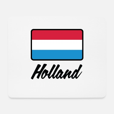 Holland Nationalflagge von Holland - Mousepad (Querformat)