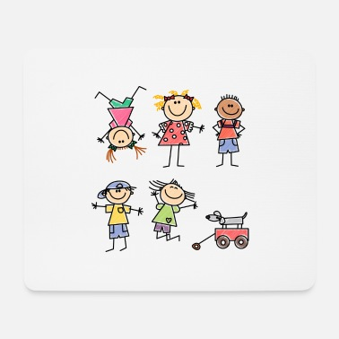 Kid Kids - Mousepad