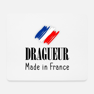 Dragueur made in France - Tapis de souris