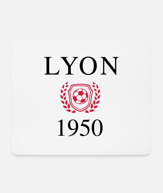 Lyon Mouse Pads - Lyon 1950 Origin - Mouse Pad white