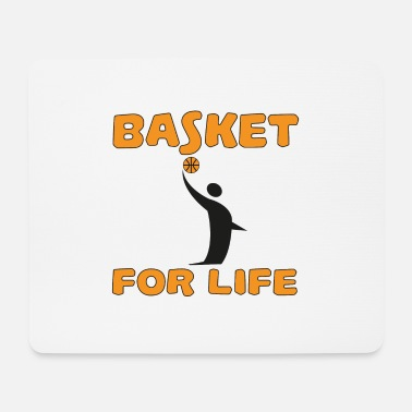 Rugby Basket for life - Mouse Pad