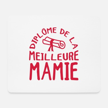Grand Parents Mamie Mamy Grand-Mère Grand Mere Grands Parents - Mouse Pad