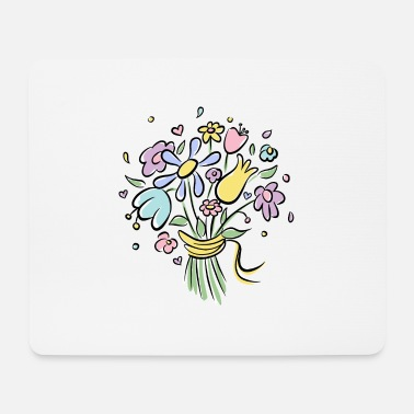 Bunch of flowers - Mouse Pad