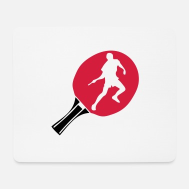 Pingpong pingpong racket racquet tennistable - Mouse Pad