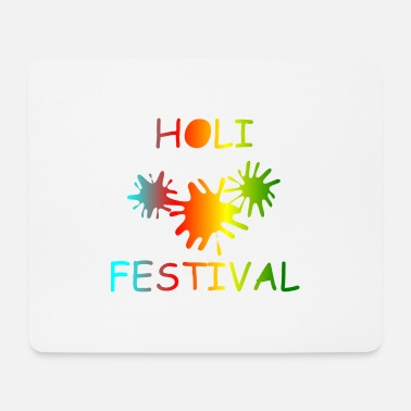 KEEP CALM, music, cool, Holi, festival - Mouse Pad