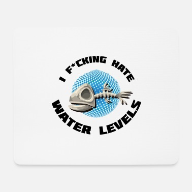 Games Gaming water level nerd geek - Mouse Pad