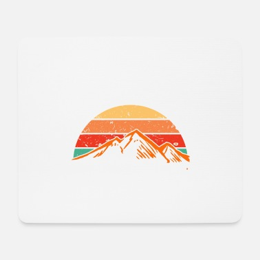 Austria Mountain mountains Alps Switzerland in the sunset - Mouse Pad