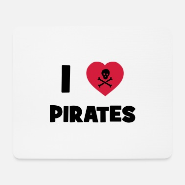 Anonymous I Love Pirates - Tapis de souris