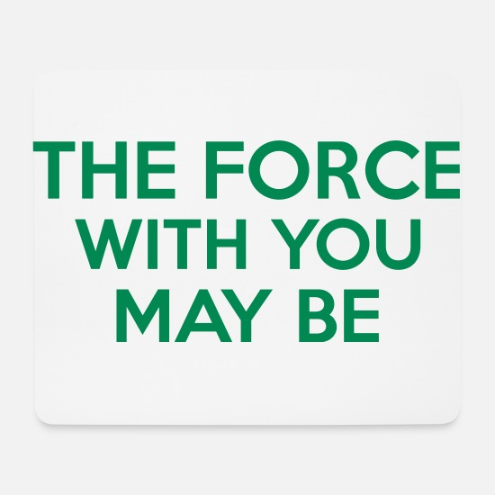 You Muismatjes  - The Force With You May Be - Muismat wit