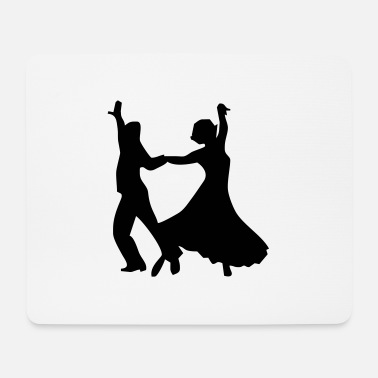 Dance Couple Dance dance dance couple - Mouse Pad