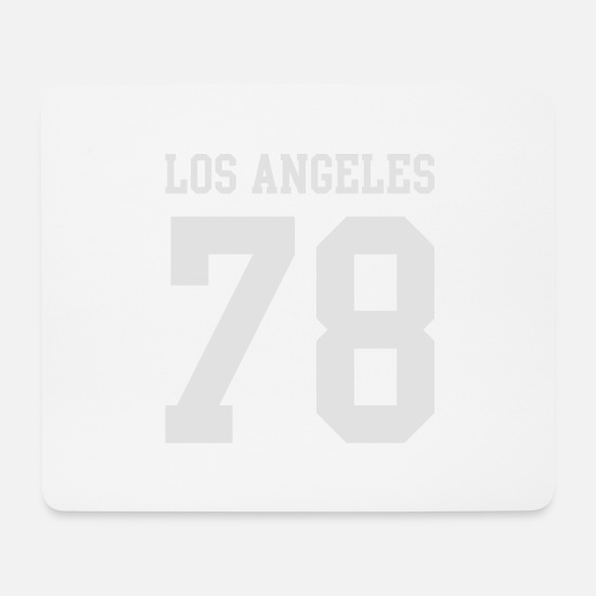 Yosemite Mousepads  - Los Angeles - Mousepad Weiß