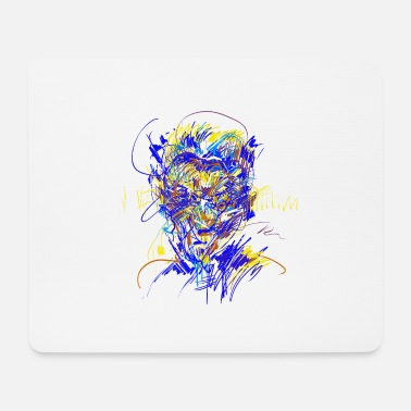 Composer Head / composer - Mouse Pad