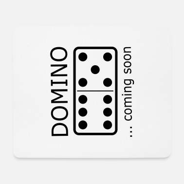 domino11 coming soon - Mouse Pad