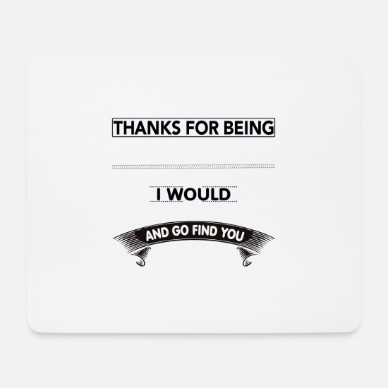 Punch Mouse Pads - Dear Granny... - Mouse Pad white