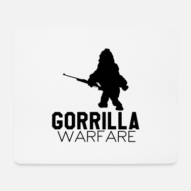 Warfare Gorilla Warfare - Mouse Pad