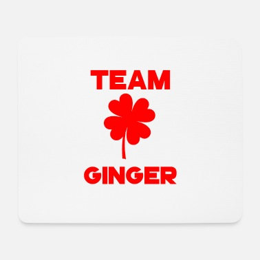 Patty St Patrick's Day Team Ginger shamrock luck - Mouse Pad
