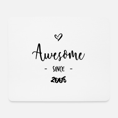 Since Awesome since 2008 - Tappetino per mouse (orizzontale)