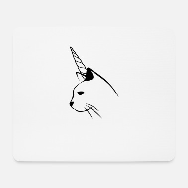 Cat unicorn - Mouse Pad