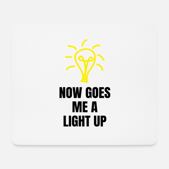 Birthday Mouse Pads - Denglisch Now Goes Me A Light Up Electrician Funny - Mouse Pad white