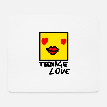 Teenager Self Picture Girl: Teenage Love - Tapis de souris (format paysage)