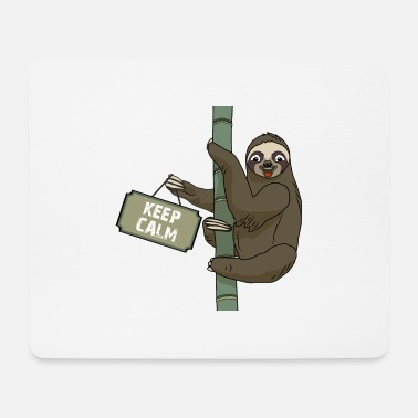 Keep Calm Sloth keep calm - Tappetino per mouse (orizzontale)