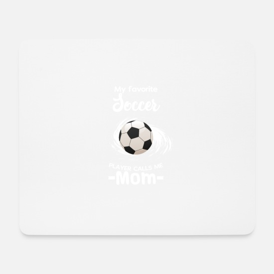 Physical Education Mouse Pads - Soccer Mom - Mouse Pad white