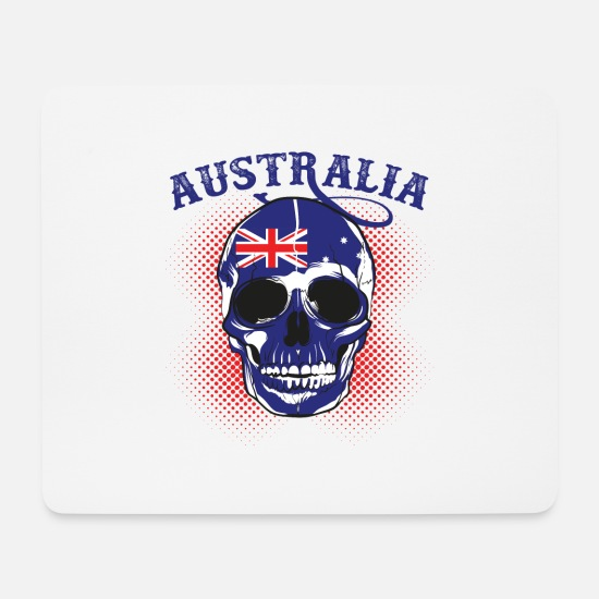 World Championship Mouse Pads - Australia Football Gift Fan World Championship - Mouse Pad white