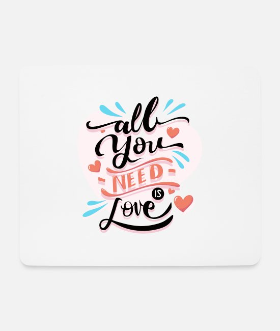 Renner Mouse Pads - Valentine's Day - Mouse Pad white