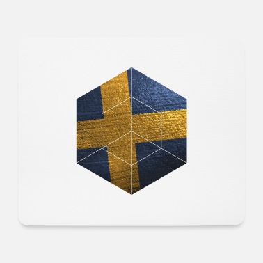 Swedish Girlfriend Sweden | Swedish flag gifts - Mouse Pad