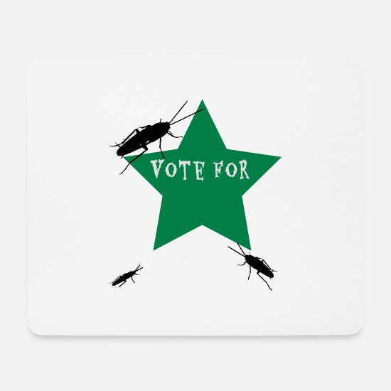 Vote Mousepads  - vote for - Mousepad Weiß