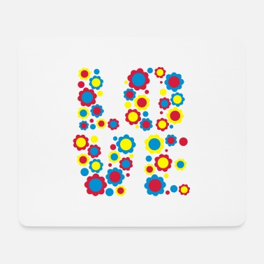 Flower Love by Cheerful Madness!! - Mouse Pad