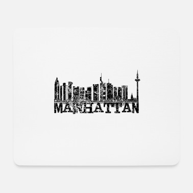 Skyline Mainhattan FFM - Mousepad