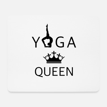 Yoga queen - Mouse Pad