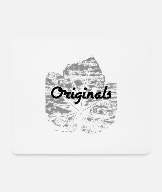 Nature Mouse Pads - Originals - Mouse Pad white
