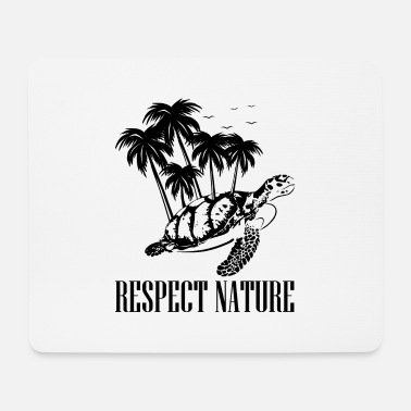 Vivant Tortue - respect de la nature - nature - Tapis de souris