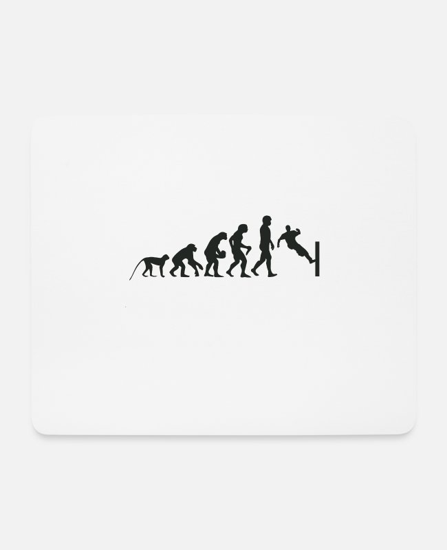 Competition Mouse Pads - Evolution Parcour - Mouse Pad white