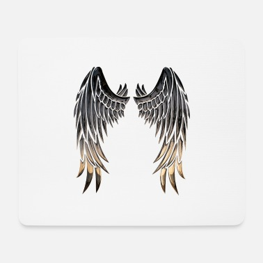 Wing Wings wings - Mouse Pad
