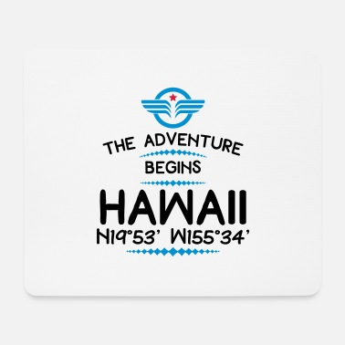 Hawaii Hawaii - Mousepad