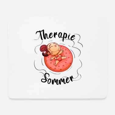 Donatella Therapie Sommer - Mousepad