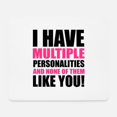 Person Personalities - Mouse Pad