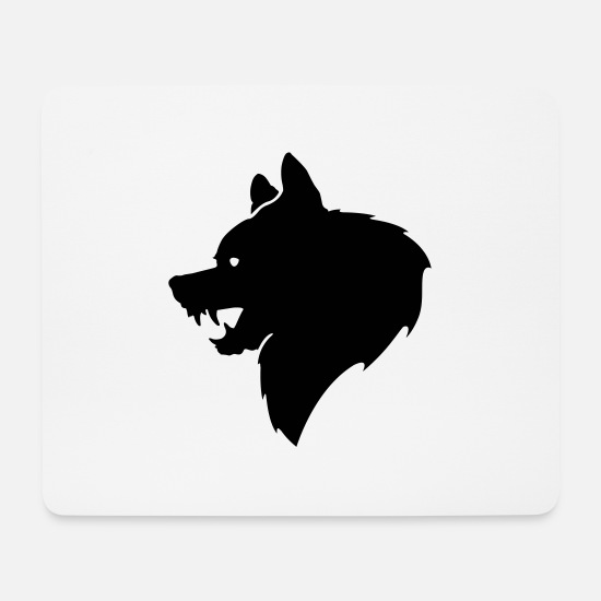 Grizzly Mousepads  - Bär - Mousepad Weiß