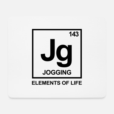 Periodic Table Livsdelar: 142 Jogging Periodic Table - Musmatta