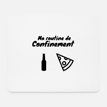 Coronavirus containment humor - Mouse Pad