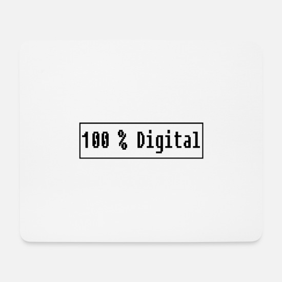 Digital Mousepads  - Digital - Mousepad Weiß