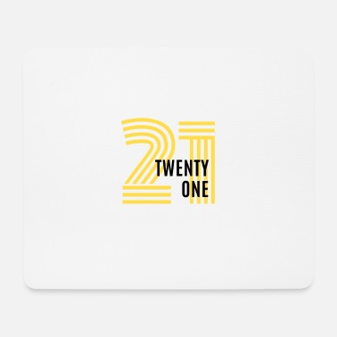 Twenty twenty one - Mousepad