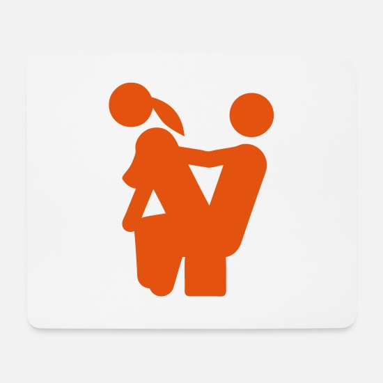 Wedding Couple Mouse Pads - sex couple love icon position 704099 - Mouse Pad white