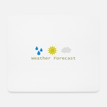 Weather Weather forecast - Weather forecast - Mouse Pad